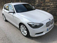 2014 (14) BMW 120d 2.0 Diesel Urban Sport Business - Sat Nav - M performance - i-Drive - 1 series