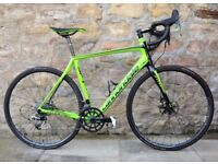 2016 CANNONDALE SYNAPSE HIMOD SRAM RED DISC CARBON ROAD RACING BIKE. 7.5KG. CARBON WHEELS. WAS £4600