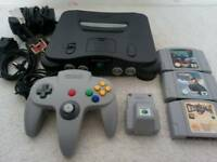 Nintendo 64 N64 Games Console