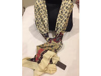 Louis Vuitton silk scarf Long New