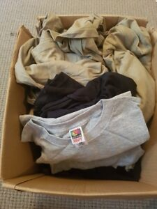 Box of Assorted Blank Shirts
