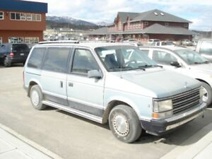 1988 Chrysler Other Minivan, Van