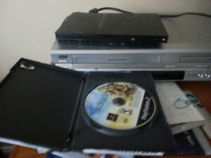 PS2 Slim with 2 memory cards and 3 games