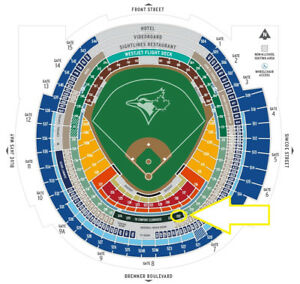 Toronto Blue Jays vs Boston Red Sox - August 30 - TD Club Lvl