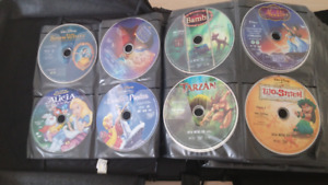 100+ Animated movies collection bluray and dvds
