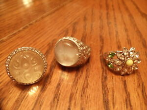 Lia Sophia rings - size 6 $10 each or 3 for $25