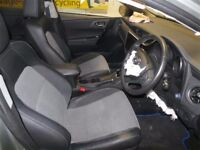 2016 Toyota Auris Excel HSD car seats, door cards and carpets