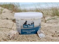 100% Natural Healthy Fish SeaTreats. £7.99 per tub & free delivery!! Or 2 tubs for £13.99!!