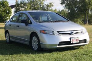 2007 Honda Civic DX-G Sedan 5 Speed
