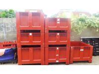 Allibert Geobox Pallet Boxes 1200 x 1000 x 750 Heavy Duty Plastic