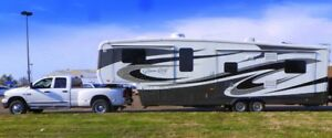 OUTSTANDING 5TH WHEEL RV - & - DUALLY RAM TRUCK