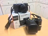 Sony A6000 Compact System Mirrorless Camera with 16-50mm Lens - black(+extras)