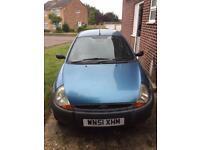 Ford KA Blue 2001