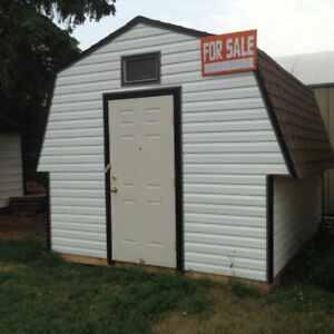 New 8x12 shed