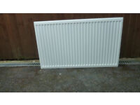 RADIATOR DOUBLE IN WHITE