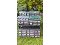 Multi Drawer Plastic Storage Cabinet. Suitable for Home Garage or Shed .