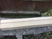 STONE CAST WINDOW CILL/LINTEL - 1000mm WIDE