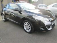 Renault Megane 1.6 VVT 111 EXTREME COUPE,12 MONTHS MOT,SERVICED,3 MONTHS WARRANTY & AA COVER 2010