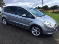 2008 FORD SMAX 1.8 TDCI ZETEC. ONLY 53000 MILES 3 MONTH WARRANTY 7 SEAT