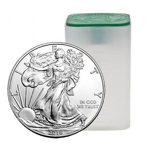 Tube en argent/silver bullion Americain eagle 20 oz 2013 .999