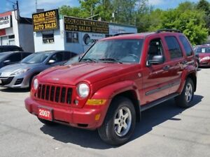 2007 Jeep Liberty Sport-Low km