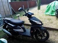 Haze 125 motorbike