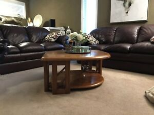 Coffee and End table set (wood finish)