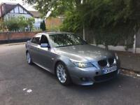 **2008 58 BMW 530D M SPORT LCI GREY FULLY LOADED F1 PADDLE SHIFT**