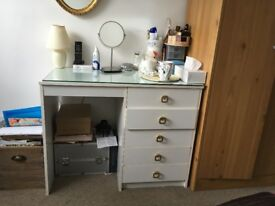White Dressing table