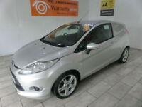 2012 Ford Fiesta van 1.6TDCi Stage V Sport **BUY FOR ONLY £21 PER WEEK**