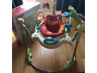 Jumperoo - Rainforest by Kingfisher