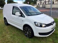 VOLKSWAGEN CADDY TDI, 2011, COLOUR CODED, NEW ALLOYS **FINANCE FROM AS LITTLE AS £37 PER WEEK**