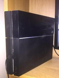PlayStation 4 with selection of games
