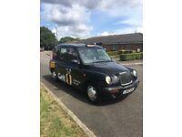 London taxi - tx2 London plated Lti black cab