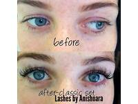 Individual lashes extensions