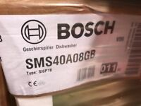 Bosch Dishwasher SMS40A08GB silver - Brand New can be viewed