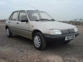 1991 Peugeot 205 only 60,000 miles showroom condition.