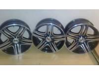 Multi fit alloy wheels