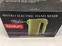 Bodem electric hand mixer in lime green