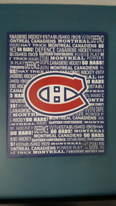 Montreal Canadiens Canvas