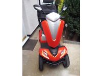 Kymco Maxer 8 Mph Mobility Scooter only a few weeks old 1.3 miles on clock - asking price OVN OFFER!