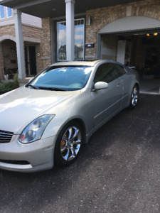 2003 Infiniti G35 Coupe 6MT with Premium, Aero and Navigation