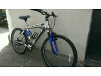Mountain bike 17 inch aluminium frame