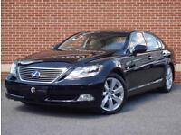2009 59 Lexus LS 600h 5.0 CVT 4dr (High) (Black, Petrol Hybrid)