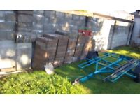 120 Standard concrete blocks
