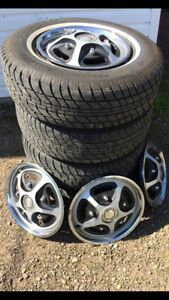 Tires on rims for sale