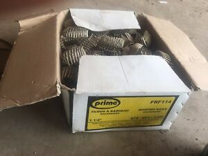 Coiled roofing nails for a nail gun 1 1/4inch