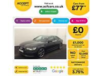 Audi A6 Saloon S Line FROM £77 PER WEEK!