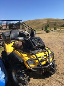 2008 can am outlander 800 with a big bore kit