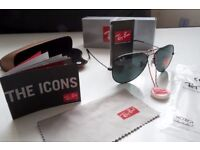 FREE DELIVERY TODAY! BLACK AVIATOR RAYBANS SUNGLASSES MENS WOMENS xbox